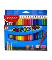Lapiz de Color Mapped Color'peps 24 Colores